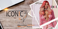 JENAE_BANNER (Neveah Niu /The ICONIC Owner) Tags: tlc iconic hair chic mesh meshhair 3dmesh 3dart 3dcontent pnk liaison collaborative variety ethnic neveahniu secondlife suit fancy classy blender zbrush photoshop photography second people art