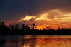 ...sunset reflections (Jim Atkins Sr) Tags: sunset spectacularsunsetsandsunrises cloudsstormssunsetssunrises sony clouds sonyphotographing sonya58 northcarolina northwestcreek fairfieldharbour cloudscape