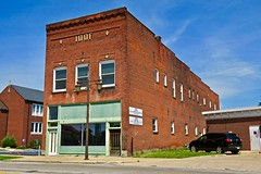 Odd Fellows Building, Napoleon, OH (Robby Virus) Tags: napoleon ohio oh odd fellows hall temple building architecture ioof international order fraternal organization vacant derelict