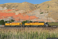 Top End RCL Switch Job (jamesbelmont) Tags: unionpacific emd gp151 sd40n saltlakecity utah northyard rcl