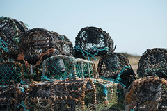 Fishing pots (V Photography and Art) Tags: fishing seaside kent net pot cage