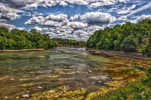 Paris Ontario - Canada - Grand River - HDR