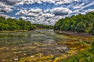 Paris Ontario - Canada - Grand River - HDR
