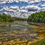 Paris Ontario - Canada - Grand River - HDR thumbnail