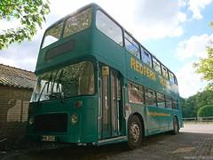 Bristol VR double decker bus 1978 (MIW-2422) (MilanWH) Tags: bristol vr double decker bus 1978 miw2422 redfern travel