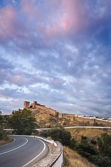 Sweetened sky (Sizun Eye) Tags: castle mértola beja portugal sky clouds cludscape sweet sizuneye nikond750 nikon1424mmf28 1424mm nikkor
