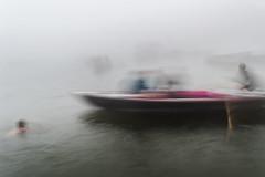 Ganga | Varanasi 2017. (Vijayaraj PS) Tags: nikon varanasi kasi india heritage ganga ganges water river incredibleindia outdoor ghats asia background boat sky 2017 fog mist