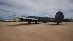 Avro 696 Shackleton AEW2 WL790 in Tucson (J.Comstedt) Tags: aircraft flight aviation air aeroplane museum airplane us usa planes pima space tucson az avro 696 shackleto raf aew2 wl790 n790wl