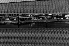 Harbour reflection (michael_hamburg69) Tags: århus aarhus dänemark danmark denmark midtjylland jütland dokk1 publiclibrary culturecenter architektur architecture architekt architect schmidthammerlassenarchitectsandkristinejensen dokkenordoket window speigelung fenster reflexion reflection monochrome