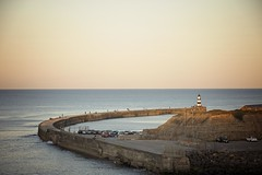 Seaham Harbour (Marie Godliman) Tags: seam sunset harbour sea durham county countydurham uk