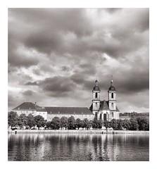 Abbaye des prémontrés Pont à mousson (db_copyright photography) Tags: ngc menaçant ciel nuages blackandwhite noiretblanc prémontrés pontàmousson abbaye superbe