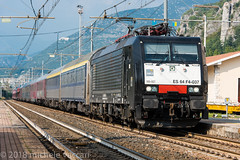 189 937 (atropo8) Tags: 189937 autozug verona veneto italy brennerbahn railways brennero domegliara nikon d810 siemens loco