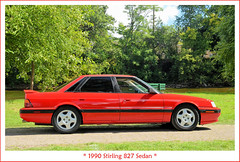 1990 Stirling 827 Sedan (sjb4photos) Tags: 2018orphancarshow 1990 stirling 827 1990stirling827