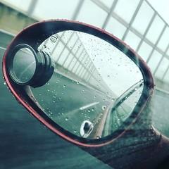 """Mirrorworld"" Rainy highway... #mirrorworld #sidemirrorshot #Chrysler #PTCruiser (YOU_official) Tags: instagram ifttt"