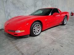 "2004 Z06 Warehouse (Mark ""MacA"" Anderson) Tags: 2004 corvette torchred z06 c5"
