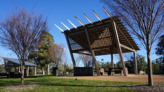Gale proof BBQ shelter (spelio) Tags: act canberra australia