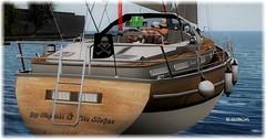 Adventure at Sea (Moxxie Kalinakova) Tags: love married sailing water nautical