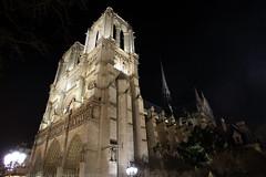 FR11 2572 Notre-Dame de Paris. L'île de la Cité. (Templar1307 | Galerie des Bois) Tags: paris valdemarne iledefrance france iledelacite notredame notredamedeparis church cathedral saints catholic romancatholic night