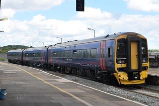 GWR 158958 @ Worcesrer Foregate Street station