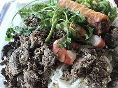 Bún chà giò tôm thįt nuóng (TomChatt) Tags: food lafoodie vietnamesefood