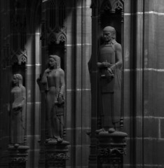 Liverpool Anglican Cathedral (Colin Nicholson) Tags: uk liverpool england cathedral anglican statue art decco