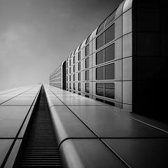 Silberturm (s.W.s.) Tags: city architecture urban sky building skyscraper abstract up frankfurt germany deutschland longexposure neutraldensity nd blackandwhite clouds architectural