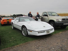 Chevrolet Corvette G652OVE (Andrew 2.8i) Tags: haynes motor museum breakfast meet sparkford yeovil somerset show classic classics cars car autos coupe american sports sportscar c4 vette chevy gm generalmotors corvette chevrolet uk unitedkingdom