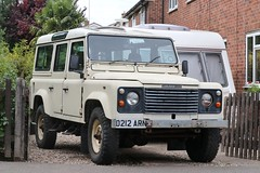 D212 ARN (Nivek.Old.Gold) Tags: 1987 land rover 110 turbo station wagon 2494cc diesel