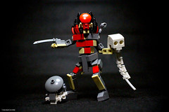 Berserker Predator (Takamichi Irie) Tags: movie moc avp alien berserker predator lego