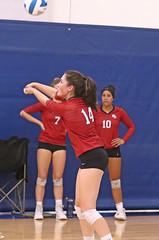 IMG_3519 (SJH Foto) Tags: girls high school volleyball mt mount olive varsity teens team bump burst mode