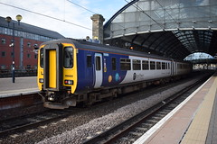 Northern 156482 (The Rail Enthusiast) Tags: newcastle newcastlecentral september trains railway railways uk ukrailways ukrailway unitedkingdom uktrains ukrailscene rail railroad railscene railfanning trainspotting railwayphotography class156 156 supersprinter sprinter super station