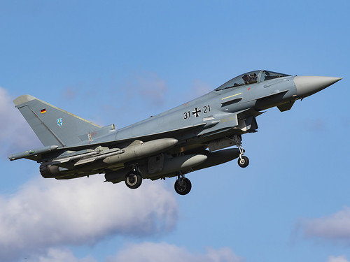 Luftwaffe | Eurofighter EF-2000 Typhoon S | 31+21