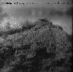 Siren Song #2 (LowerDarnley) Tags: kodakbrowniehawkeyeflash flippedlens expiredfilm 620film dandipan princeedwardisland pei malpequeharbour cliffs erosion atlanticcanada maritimes