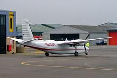 N425RR   Rockwell Turbo Commander 690A [11259] (RAMI Aviation Ltd) Staverton~G 15/03/2005 (raybarber2) Tags: 11259 bizprop cn11259 egbj flickr n425rr planebase usacivil
