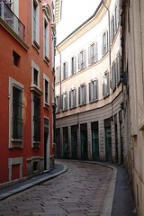 Milano Street Scene (dewelch) Tags: academic architecture church college family history italia milan milano screenwritingresearchnetwork srnconference travel university
