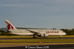 Qatar Airways A7-BDB B787-8 Dreamliner (IMG_9974) (Cameron Burns) Tags: qatarairways qatar airways qr a7bdb boeing boeing787 boeing7878 boeing788 boeing787dreamliner boeing7878dreamliner b787 b788 b7878 dreamliner doh doha red wine burgundy grey manchester airport manchesterairport man egcc ringway viewing park airfield aviation aerospace airliner aeroplane aircraft airplane plane canoneos550d canoneos eos550d canon550d canon eos 550d uk united kingdom unitedkingdom gb greatbritain great britain europe action