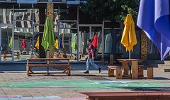 I enjoy street photography as much as any other. Here are the colours and reflections of civic Square in Canberra City. (grahamgall.photo) Tags: ifttt instagram
