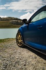 Renault Megane 3 RS Blue Extreme (lu_ro) Tags: megane 3 rs blue extreme renault coupe gavia pass mountain alps bormio french