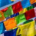 Flags at Boudhanath