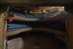 Yorkshire Theatre (Alex Burnells Photography) Tags: abandon abandoned urban exploration explorer decay decaying nation history heritage forgotten urbex