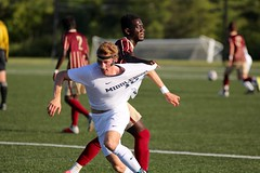 Sneaky defense (stephencharlesjames) Tags: soccer football college sports ball sport shirt foul middlebury vermont norwich university action