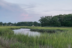 Blue Hour Landscape_DSC03760.jpg (tahcreative) Tags: summer sunrise sunset nature water outdoor landscape sony newengland connecticut watercourse river marsh