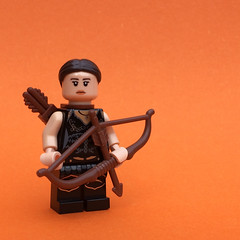 Forest Hunter (FxanderW) Tags: lego fantasy medieval wizard mage knight soldier hero villain rp dwarf enchantress hunter witch pirate figbarf minifigures minifigure