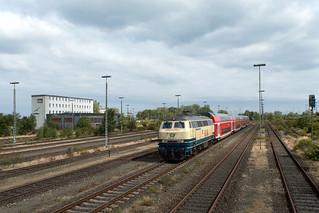 218 460 - Conny - Ausfahrt Puttgarden