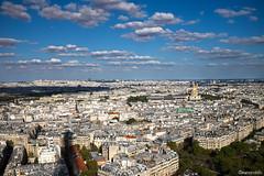 ...Parigi... (marcorodolfo) Tags: cityscape fujix100t paris panorama clouds eiffel