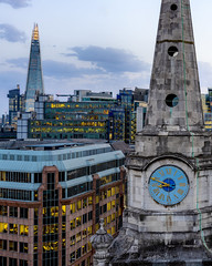 London Cones (JH Images.co.uk) Tags: london shard sky skyscraper skyline skyscrapers hdr dri clouds city church clock architecture