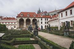 The baroque style of Wallenstein Garden (Valdštejnská zahrada) (beyondhue) Tags: wallenstein garden valdštejnská zahrada prague praha czech republic beyondhue travel castle