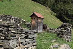 les w-c (bulbocode909) Tags: valais suisse mex langemo alpagedelangemo wc montagnes nature murs pierres forêts arbres vert