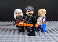 Wilson Family (-Metarix-) Tags: lego minifig dc comics comic super hero deathstroke rose wilson slade joe jericho ravager rerbith universe pre new 52 terminator
