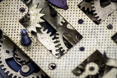 Clockwork mechanism (Mario Donati) Tags: cogwheel macromondays nikon d3100 sigma70300mm